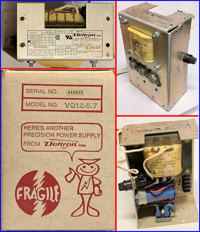 Open-Frame 12 VDC 5.7 Amp Regulated Power Supply